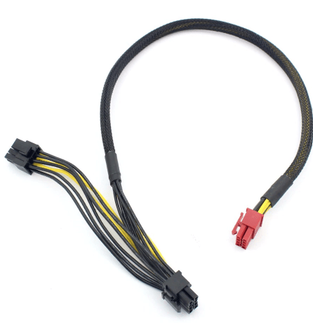 6-pin to 8-pin PCI Express Power Converter Cable for GPU
