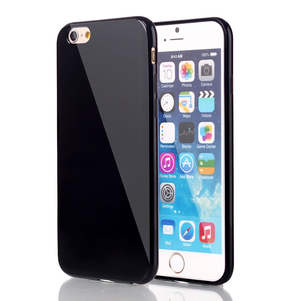 brand new 703c6 2d69a iPhone 6 Gloss Gel TPU Pastel silicone Shinny Shock Bumper Case